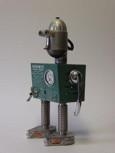 Mr. Supermite robot   Flickr - Photo Sharing!