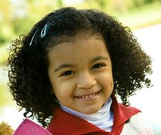 Kids Hair Styles: Girls Hair Styles for Curly Hair