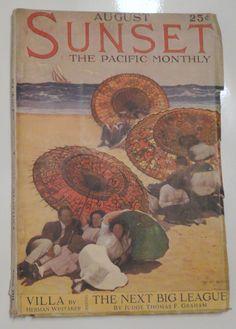 Sunset Magazine, August 1914