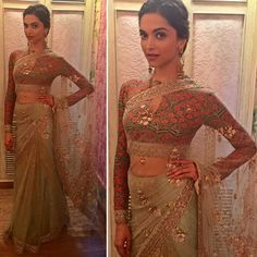 Bringing exclusive images of Deepika Padukone  just before stepping out for