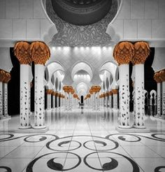 Sheikh Al Zayed Grand Mosque Poster Print by Massimo Cuomo (12 x 12) - Brought to you by Avarsha.com
