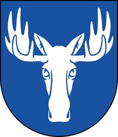Coat of arms of the municipality of Östersund, Sweden