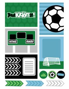 FREE Soccer Printable by The Creative Monster