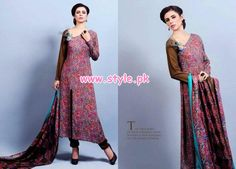 Eiza by UA Textile Winter 2012 Latest Collection Pictures