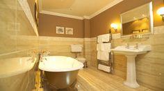 Acarkette villa banyosu