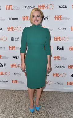 Pin for Later: Désolé NYFW — Mais Il y Avait des Stars Tout Aussi Stylées au Festival du Film de Toronto Elisabeth Moss