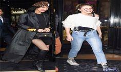 العارضتان جيجي وبيلا حديد تتألقان في أزياء…: تألقت الأختان جيجي وبيلا حديد، في فرنسا، قبل بدء أسبوع الموضة في باريس، وبدت جيجي، العارضة…