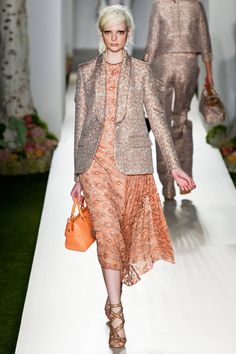 Mulberry Spring 2013 RTW Collection - I'd love to see the dress without the jacket.