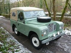 1974 Land Rover Series 3 – miles – Galvanized Chassis for sale in Huddersfield West Yorkshire Defender 90, Land Rover Defender, Land Rover Series 3, Best 4x4, Jeep Suv, Mc Laren, Off Road, Performance Cars, Car In The World