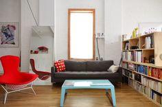 Tour An Urban Industrial Brooklyn Loft Small Spaces
