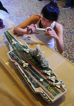 Chocolate version of aircraft carrier Varyag