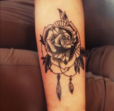 rose tattoo lower arm - Google Search