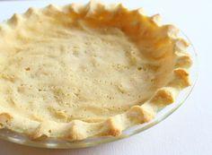 Coconut Flour Pie Crust | gluten free | coconut flour