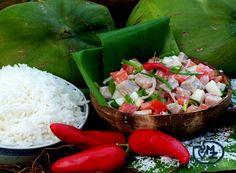 Poisson cru à la Tahitienne