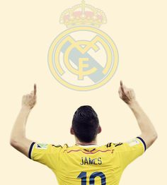 Welcome to Real Madrid James Rodriguez!