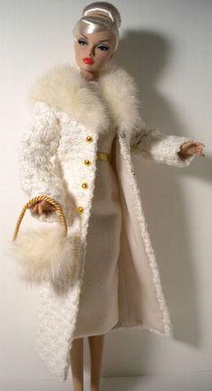ivory coat and dress
