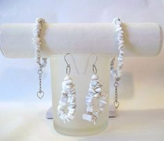 Jewelry set    anklet    bracelet   and by CreativeManiacs on Etsy