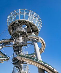 if only carsten höller designed an adventure slide tower in every city...