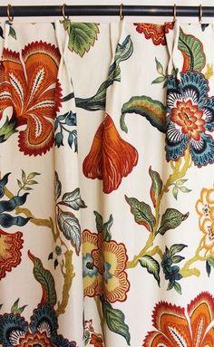 Schumacher Celerie Kemble Hothouse Flowers Spark