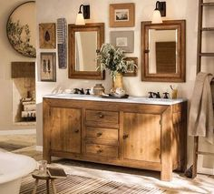 Pottery Barn Bathroom Ideas: Furniture and Finishes | Bathroom Remodel Ideas