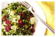 Recipe: Quinoa Cauliflower Tabbouleh | In Pursuit of More
