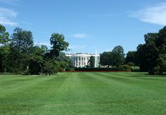 Seeing The White House in Washington DC