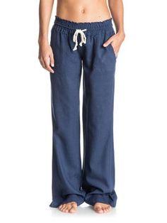 roxy, Oceanside Beach Pants, BLUE PRINT (bsq0)
