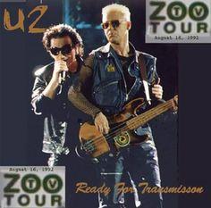 U2 -Zoo Tv Tour -Washington ,USA 16/08/1992