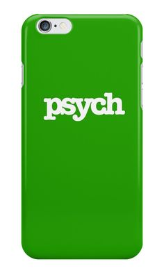 Psych phone case