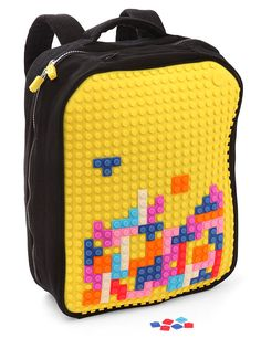 Pixel Art Backpack for kids