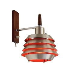 Multilayer wall light by Lakro, 1960s