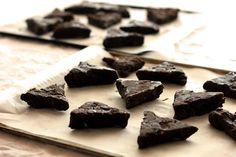 dark chocolate toblerone cookies (!!!) via the fairy bread chronicles