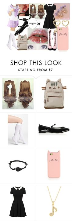 """""""Japanese Challenge"""" by creepypasta-music-anime-love ❤ liked on Polyvore featuring Pusheen, DKNY, Repetto, Kate Spade, Andrew Hamilton Crawford and Marc by Marc Jacobs"""