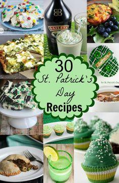 30 St Patrick's Day recipes