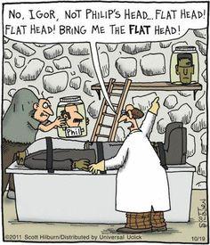 Funny frankenstein cartoon - http://jokideo.com/funny-frankenstein-cartoon/