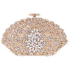 Fawziya Sea Shell Shaped Party Clutch Purse Crystal Evening Clutch Bags-Gold Fawziya http://www.amazon.com/dp/B00JVD3R16/ref=cm_sw_r_pi_dp_XGUbvb1N4CJGF