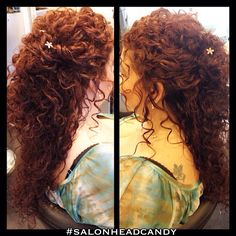 Head candy salon curly hair updo wedding, wedding hair half, wedding hair and makeup Curly Hair Updo Wedding, Wedding Hair Half, Wedding Hair And Makeup, Prom Hair, Wedding Hairstyles, Curly Hair Half Up Half Down, Half Up Curls, Bridesmaid Hair Half Up, Curly Hair Styles
