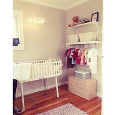 baby corner nursery girl @steenelisabean