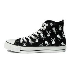 15 skull converse shoes - Skullspiration.com - skull designs, artSkullspiration.com – skull designs, art, fashion and more