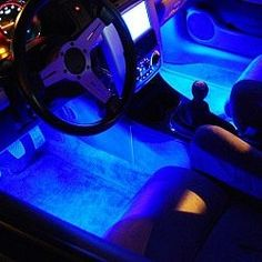 This easy to install lighting system makes any car look super cool, especially at night! #car #underglow