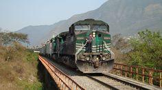 Ferrosur train in Veracruz.