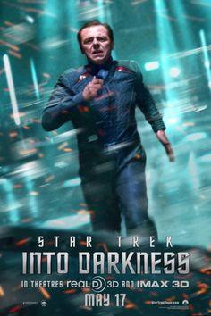 Star Trek Into Darkness Poster. Run!
