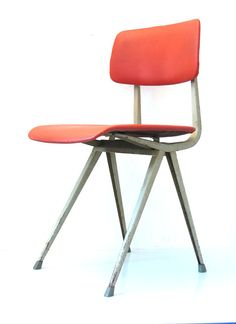 2 Friso Kramer Result chair - fifties, sixties, retro, eames, prouve, perriand, jacobsen, grete jalk, hans wegner, finn juhl style