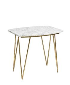 Spencer marble side table
