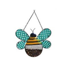 Dots and Blossoms Inspirational Bee Bird Feeder