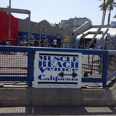 Muscle Beach at Venice, Santa Monica