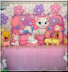 decoração simples de aniversário com balões - Pesquisa Google