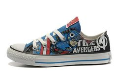 Converse DC Comic The Avengers Captain America All Star Low