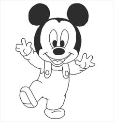Free Printable Mickey Mouse Coloring