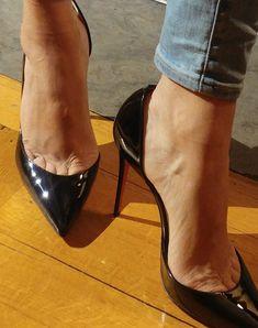 Sexy High Heels, Rosa High Heels, High Heels Boots, High Heels For Prom, Extreme High Heels, Frauen In High Heels, Pink High Heels, Beautiful High Heels, Hot Heels